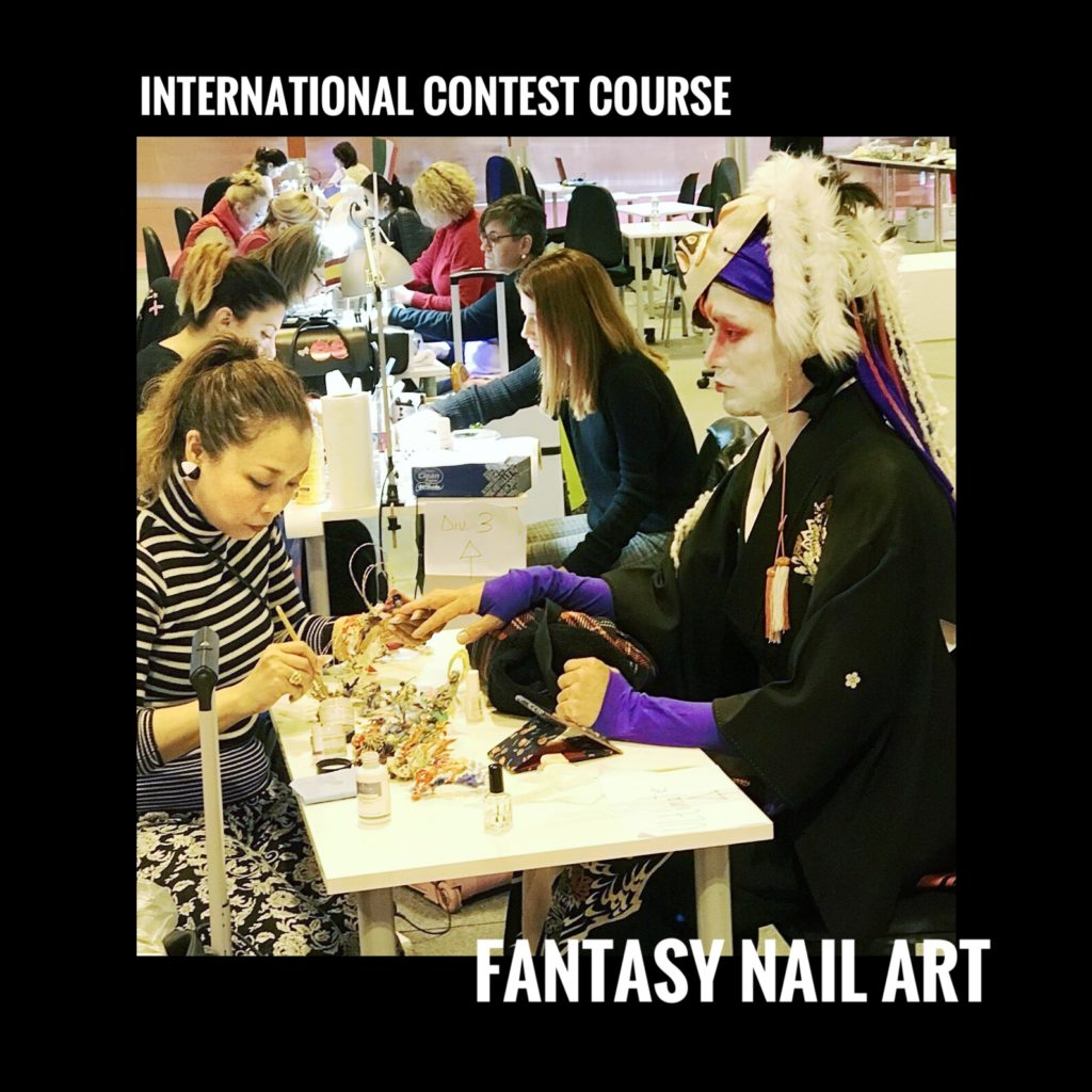 International contest course-Fantasy nail art